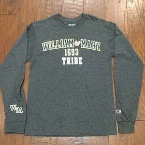 Champion William & Mary long sleeve pullover